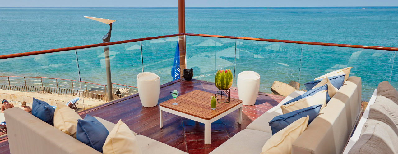 The Deck by the Sea