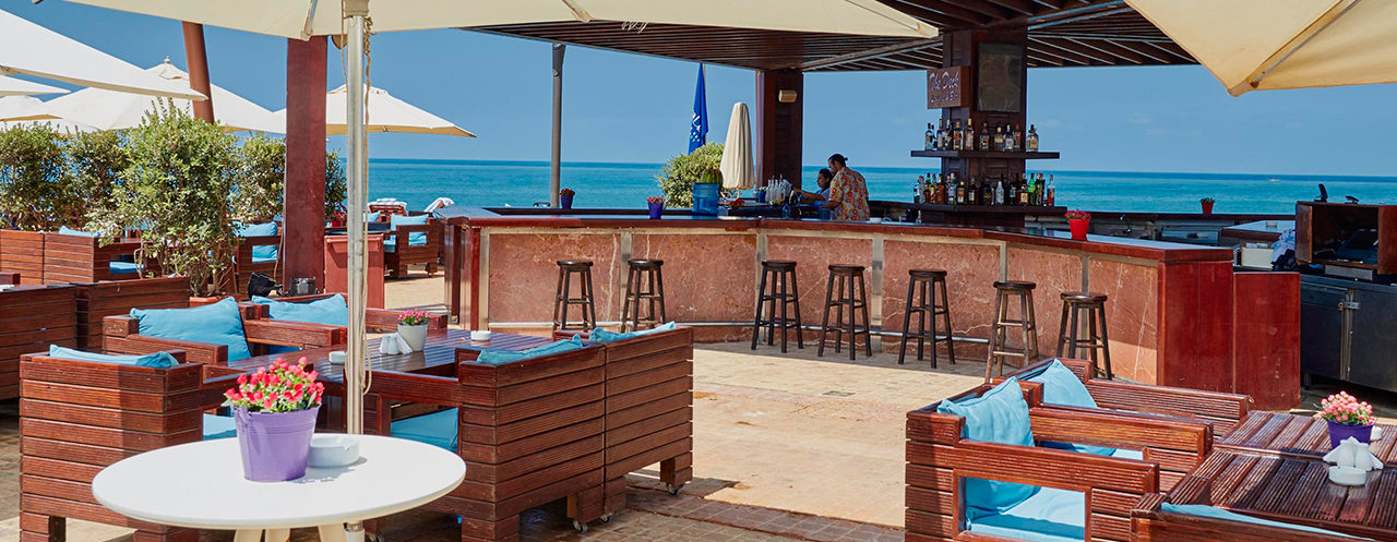 The Deck Bar and Seats