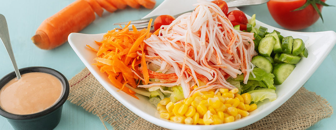 The Deck - Healthy Salad with Sauce on the Side